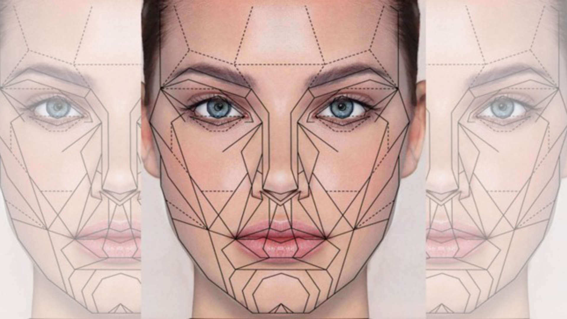 Artistic Facial Transformation Slide